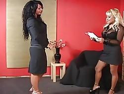 lesbian boss porn