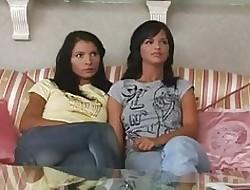 lesbian threesome porn