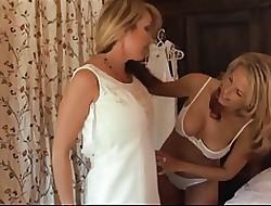 Lésbicas mamando mamilos