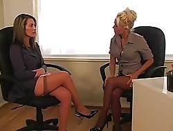 Lesbijki sekretarz porno